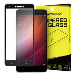 Tempered Glass Full Face - Xiaomi Redmi Note 4X - Μαυρο - iThinksmart.gr