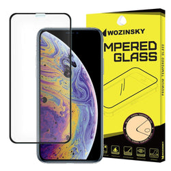 Tempered Glass - Τζαμάκι / Γυαλί Οθόνης Full Face Case Friendly - iPhone X/XS/11 PRO - Μαυρο - iThinksmart.gr