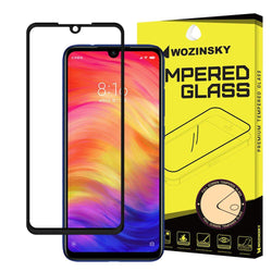 Tempered Glass 9H Wozinsky - Full Cover Case Friendly Full Glue Μαύρο - Xiaomi Redmi Note 7 - iThinksmart.gr