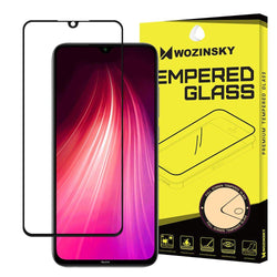 Tempered Glass - Τζαμάκι / Γυαλί Οθόνης 9H Wozinsky - Full Cover Case Friendly Full Glue Μαύρο - Xiaomi Redmi Note 8 / 8T - iThinksmart.gr