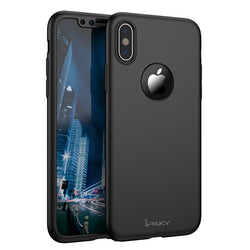 Θηκη 360° Full Cover iPaky Μαυρο - iPhone X / XS - iThinksmart.gr