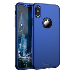 Θηκη 360° Full Cover iPaky Μπλε - iPhone X / XS - iThinksmart.gr