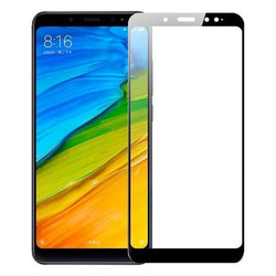 Tempered Glass Full Cover Μαυρο - Xiaomi Redmi 5 Plus / Redmi Note 5 (Pro) - iThinksmart.gr