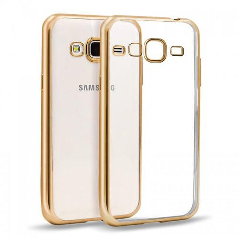 "Θηκη TPU ""Luxury Frame"" - Galaxy J5 (2016) - Χρυσο"