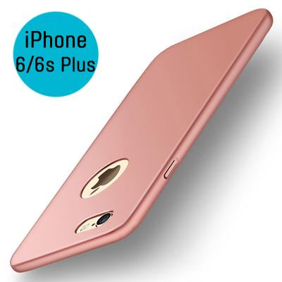 Θηκη Slim Hard Color - iPhone 6 Plus / 6s Plus - Ροζ Χρυσο - iThinksmart.gr