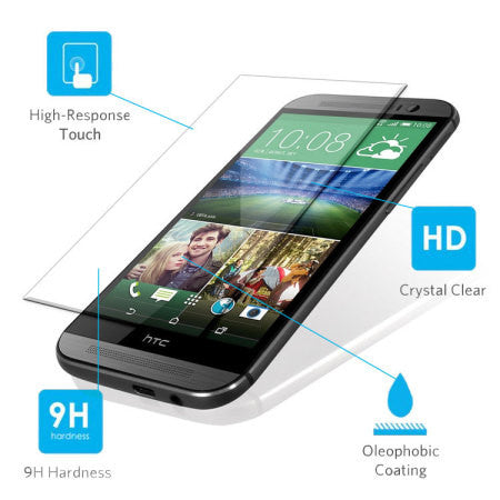 Tempered Glass - HTC One M8 - HTCM8-SP1,  , Screen Protector, i-Think - i-Think - 1