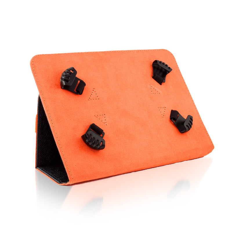 "Θηκη - Stand Universal - Tablet 7-8"" Ιντσών - Black/Orange - iThinksmart.gr"