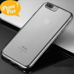 "Θηκη TPU ""Luxury Frame"" Μαυρη - iPhone 7 Plus / 8 Plus - iThinksmart.gr"