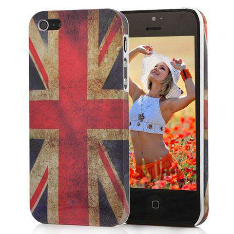 "Θηκη ""Retro UK Flag"" - iPhone 5/5s/SE - IPH5-P16,  , Θήκη, i-Think - i-Think - 1"