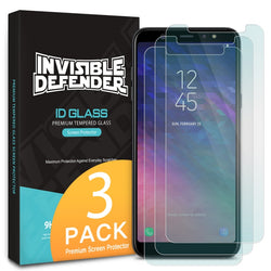 Tempered Glass Ringke 3 Pack - Galaxy A6 Plus (2018) - iThinksmart.gr