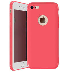 Θηκη TPU Candy Color Slim - iPhone 7 Plus / 8 Plus - Rose Red - iThinksmart.gr