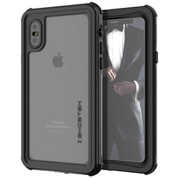 Θηκη Waterproof Case Ghostek Nautical - iPhone XS Max - Μαυρο - iThinksmart.gr