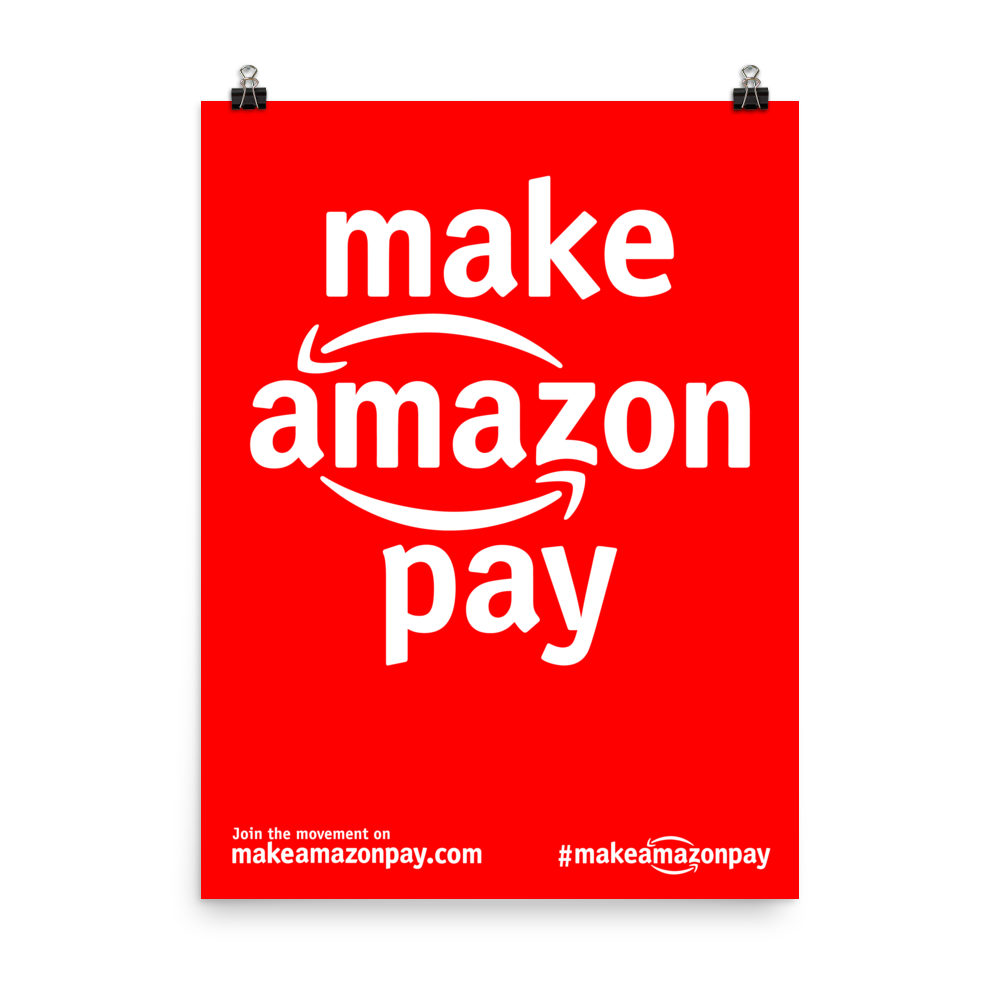 #MakeAmazonPay Basic Poster