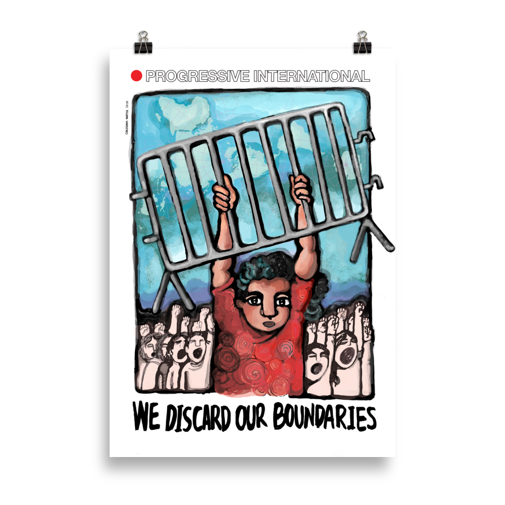 Golrokh Nafisi — We Discard Our Boundaries Poster