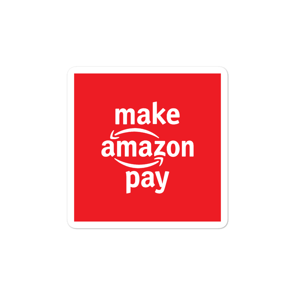#MakeAmazonPay Stickers