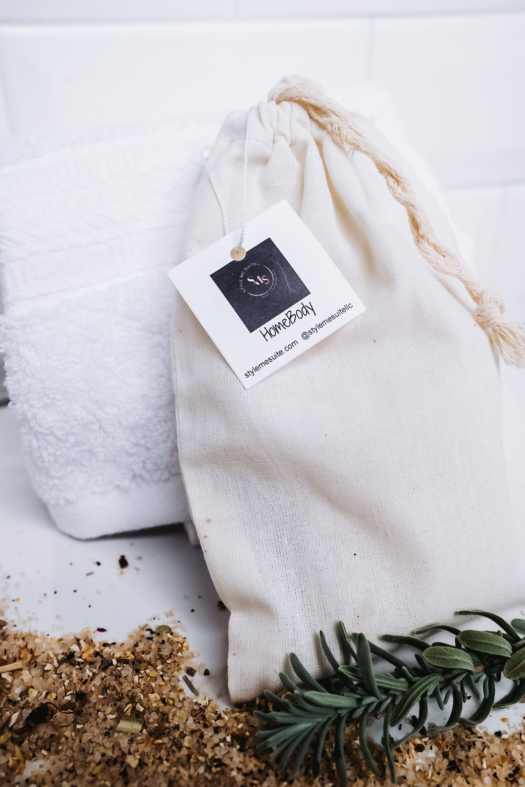 All Natural Bath Teas - bagged