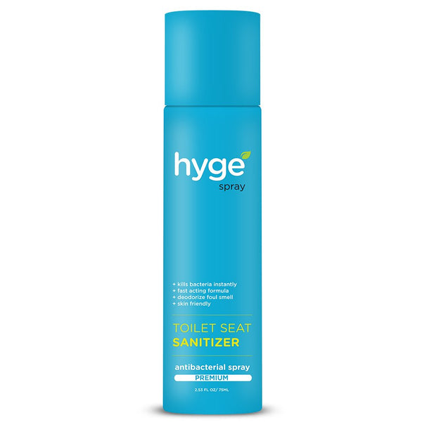 Hyge Antibacterial Toilet Seat Sanitizer Spray – 75ml