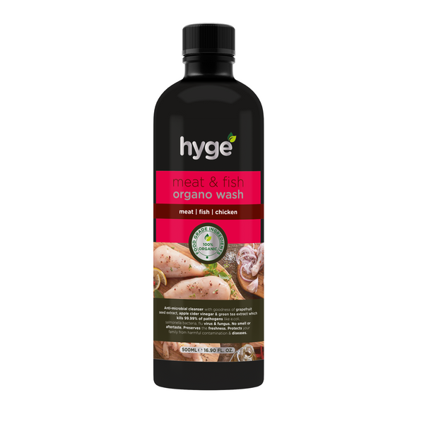 Hyge Meat & Fish Organo Wash Cleanser- 500ml