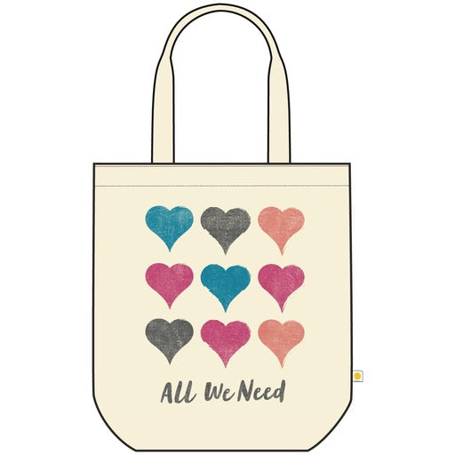 Messaging Tote All We Need is Love