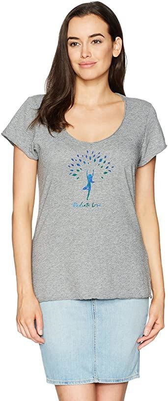 Women's Smooth Tee, Radiate Love