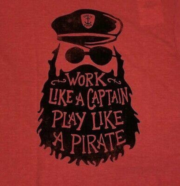 Men's Cool Tee Work Like a Captain