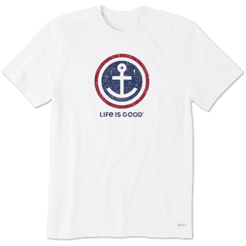 Men's Crusher Tee, Anchor Coin