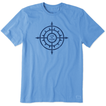 Men's Crusher Tee, Compass Sun