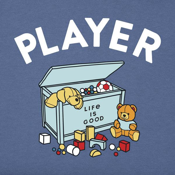 Toddler L/S Crusher Tee Player