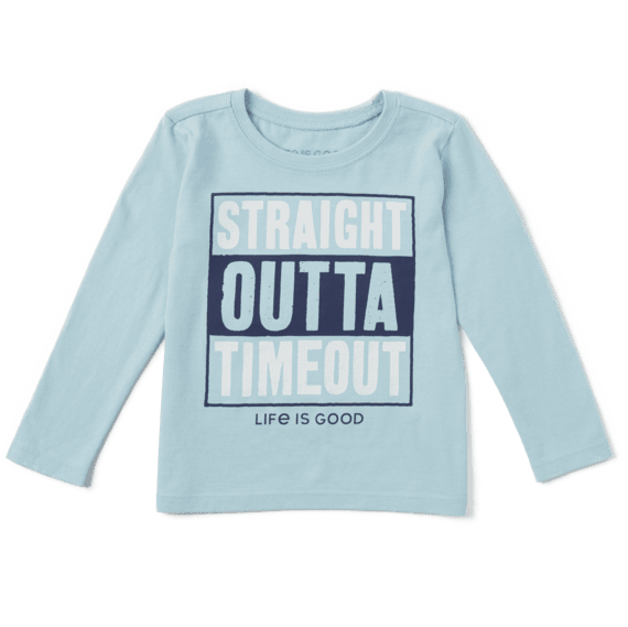 Toddler L/S Crusher Tee Straight Outta Timeout