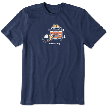 Men's Crusher Tee, Road Trip