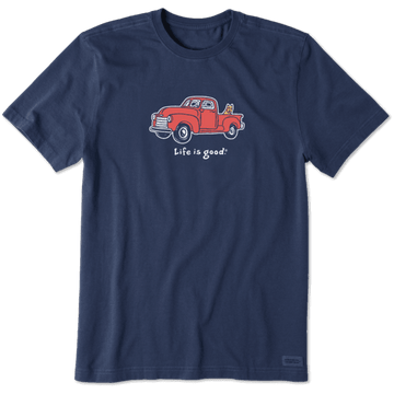 Men's Crusher Tee Truck Rocket