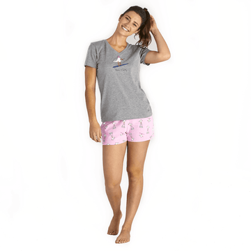 Women's Sleep Shorts Gulls