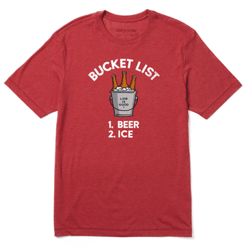 Men's Cool Tee Bucket List