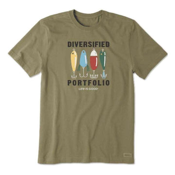 Men's Crusher Tee, Diversified Portfolio