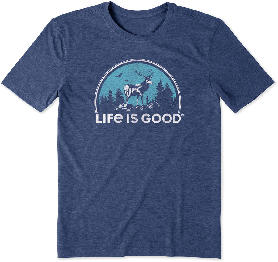 Men's Cool Tee, Landscape Deer