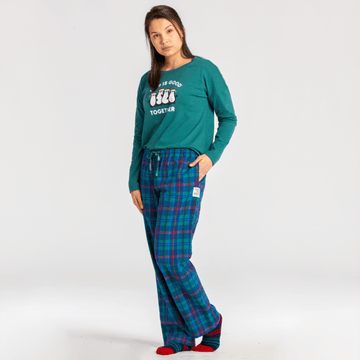 Women's Classic Sleep Pants, Holiday Plaid