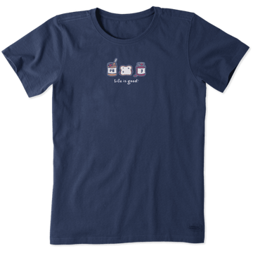 Women's Crusher Tee Peanut Butter and Jam