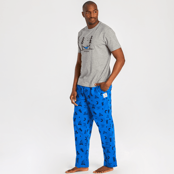 Men's Classic Sleep Pant, Outdoor Action