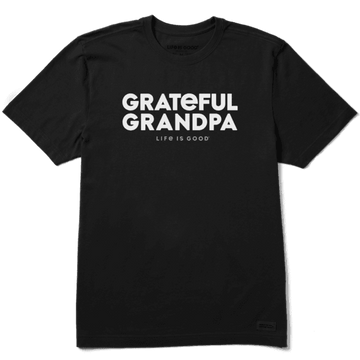 Men's Crusher Tee Grateful Grandpa