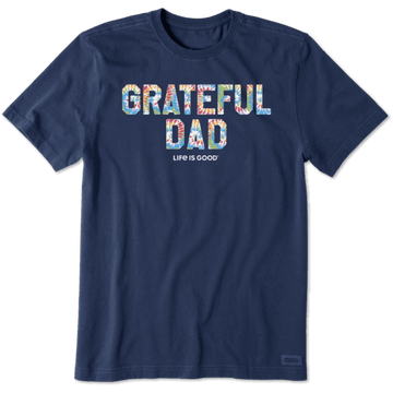 Men's Crusher Lite Tee Grateful Dad