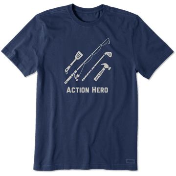 Men's Crusher Tee Action Hero