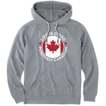 Men's Simply True Hoodie Positively Canadian