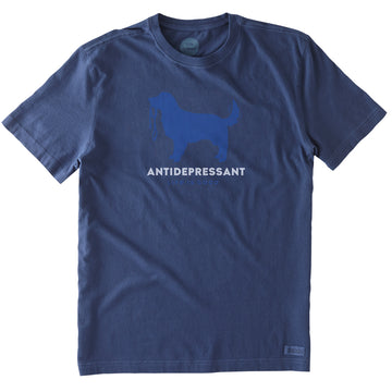Men's Crusher Tee Antidepressant