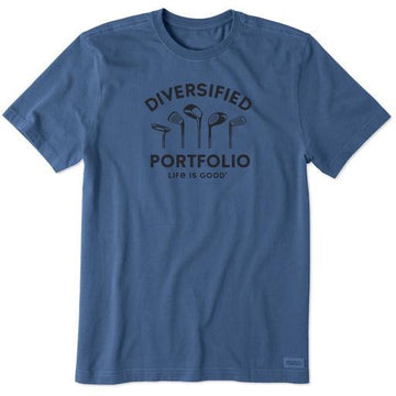 Men's Crusher Tee Diversified Portfolio Golf