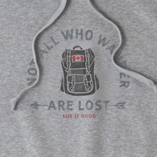 Women's Hoodie Hot All Who Wander Are Lost Canada