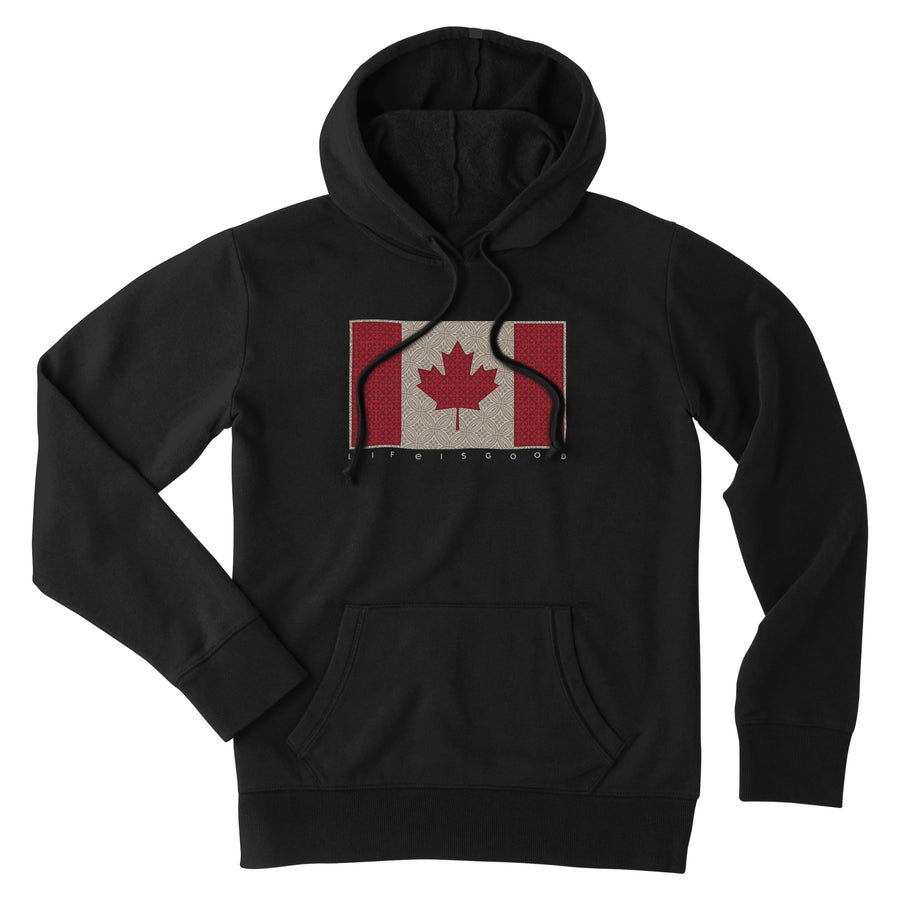 Women's Simply True Hoodie Canada Flag