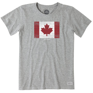 Men's Crusher Tee Canada Flag