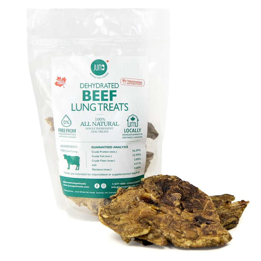 Juno Pet Food Beef Lung