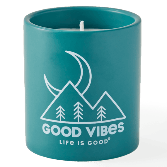 Good Vibes Moon Soy Candle