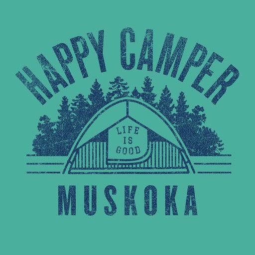 Boys Crusher Tee Happy Camper Muskoka